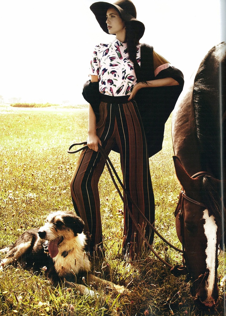 Fashion Quarterly magazine - Cooper Parallel Lines pant