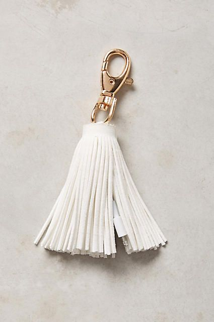 USB Tassel Keychain - anthropologie.com