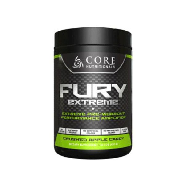 Core Nutritionals Fury Extreme - Second To None Nutrition