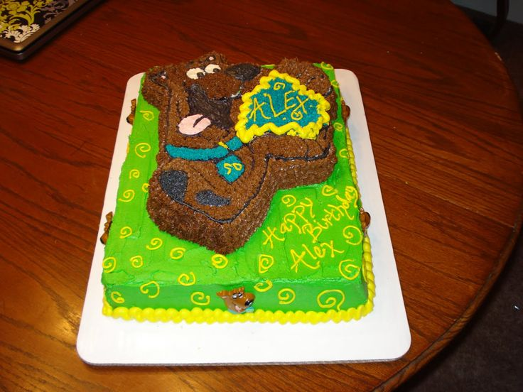 17 best ideas about scooby doo birthday cake on pinterest for Scooby doo cake template