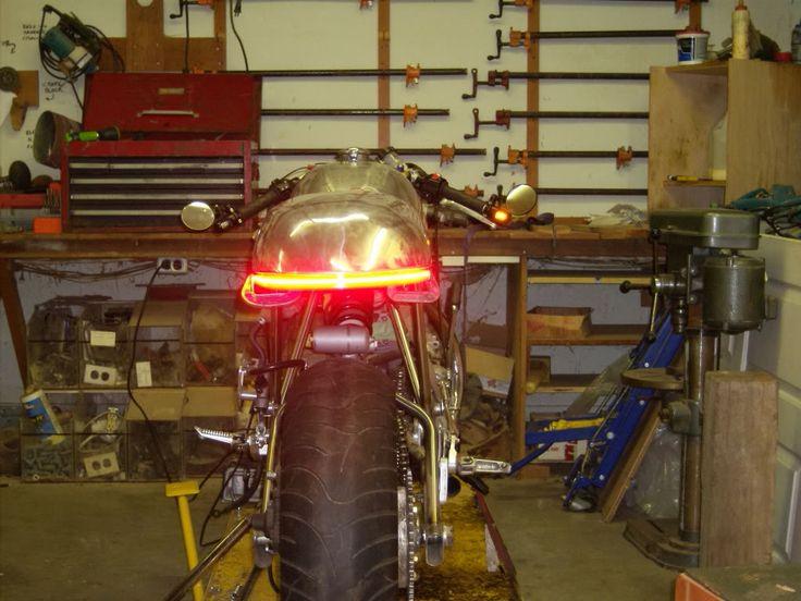 Led Light Strip Tail Errythang Motorcycle Pinterest Best Street Tracker And Scrambler Ideas
