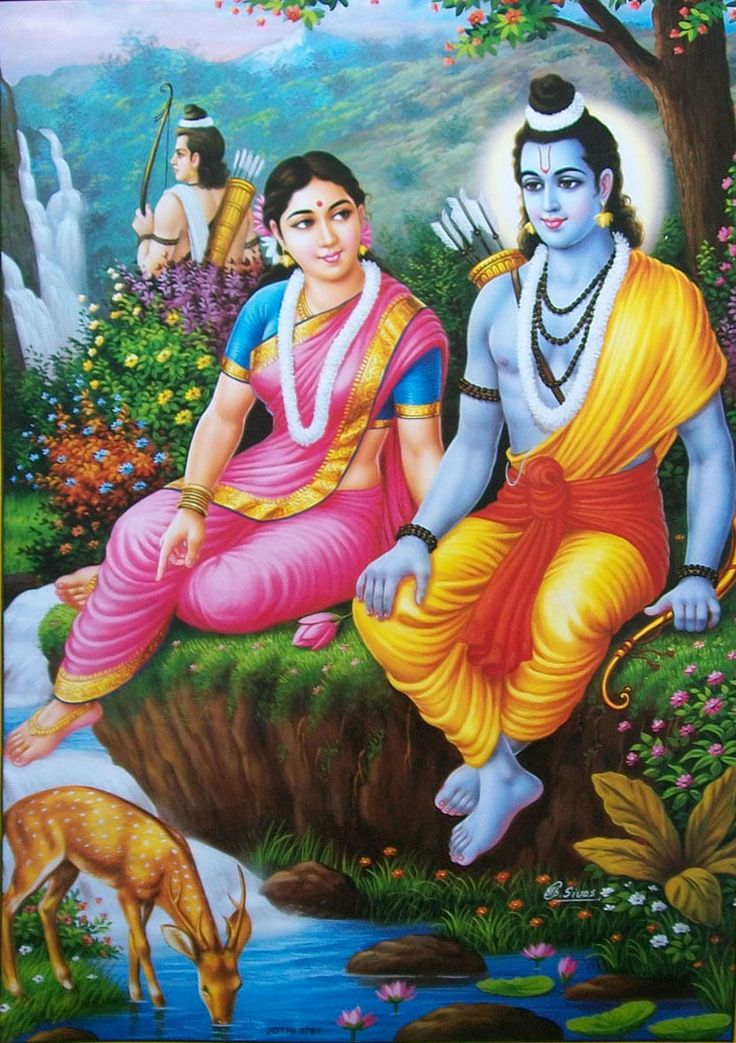 1000 Images About Lord Rama And Sita On Pinterest