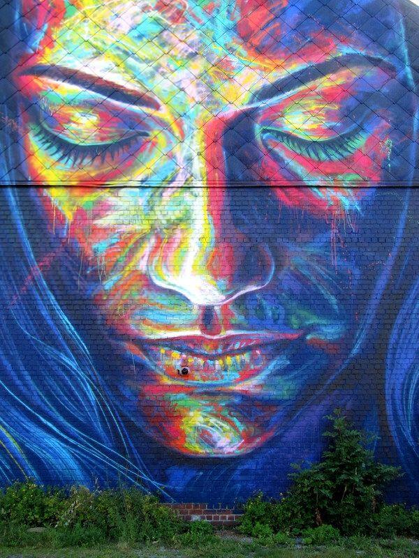 street art Roeselare ( Belgium ) - day one festival - David Walker #streetart