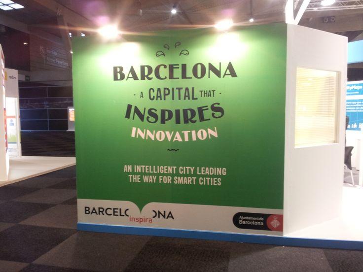 Smart City Expo World Congress 2013 - Stand Ajuntament de Barcelona
