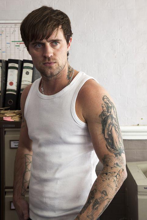 Jonas Armstrong. nice tattoos :)