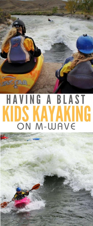 Kids Kayaking M-Wave