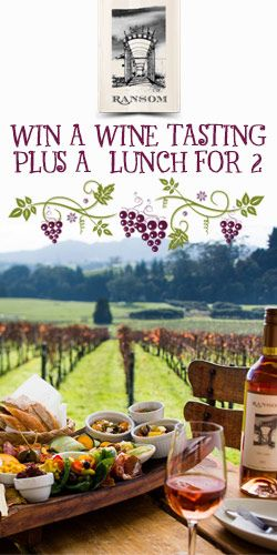 #RePin and #Win a Wine Tasting and Lunch for 2! #competition #getaway