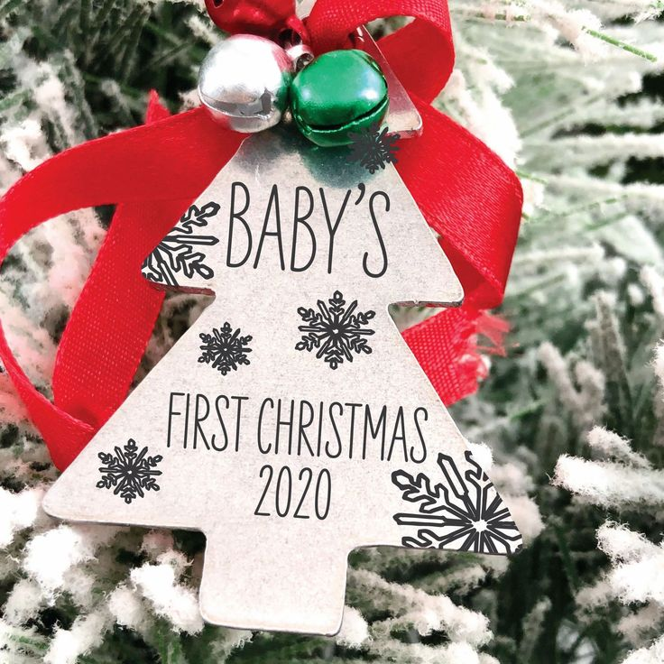 Personalized Christmas Ornaments in 2020 Baby christmas