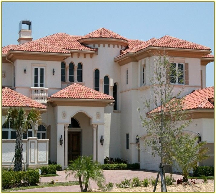 17 best ideas about spanish tile roof on pinterest for Luxury spanish style homes