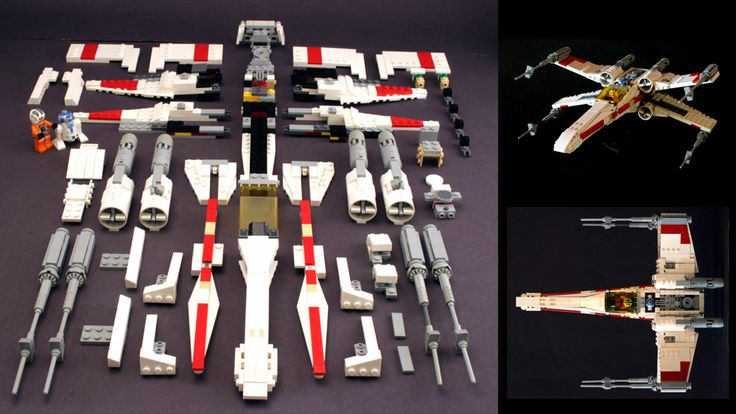 How To Build the Best Lego X-Wing Ever