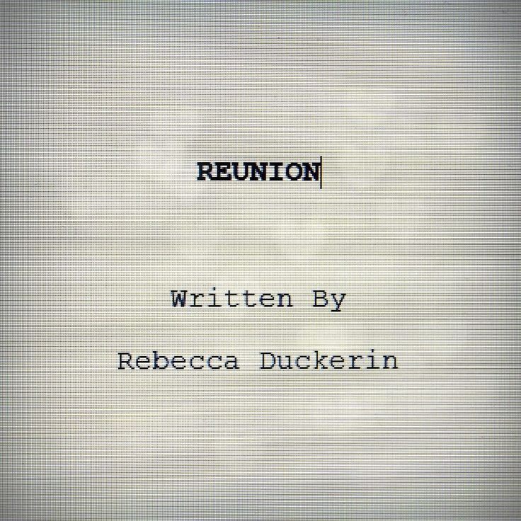 Rebecca Duckerin @rebeccaduckerin take over:  A work in progress for a scriptwriting unit. Reunion: the 3-part drama revolving around the LGBT community and the changes through 60 years following the lives of Lynn and Shelly as they find themselves and each other. #rebeccaduckerin #student #creative #media #art #writing #scriptwriting #screenplay #original #lgbt #lgbt  Rebecca Duckerin: BTEC Level 4 HNC Diploma in Creative Media Production (Pearson) at Walsall College