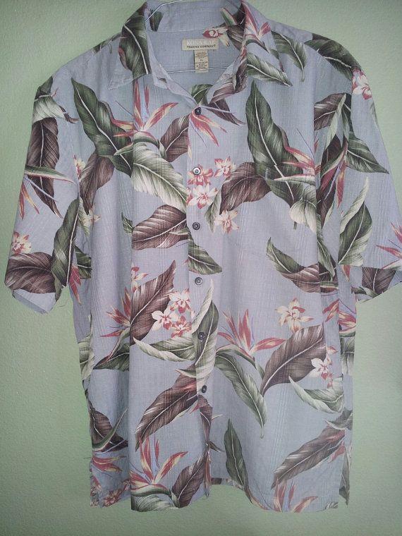 Vintage Men's Hawaiian Shirt by Kona Kai Trading by DenimSurprises, $10.00.