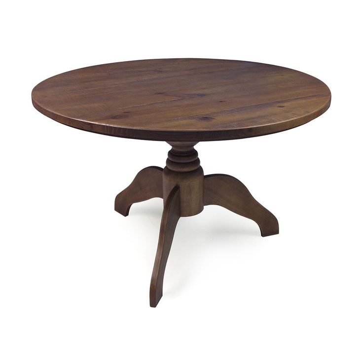 1000 ideas about rustic round dining table on pinterest - Mesas redondas vintage ...