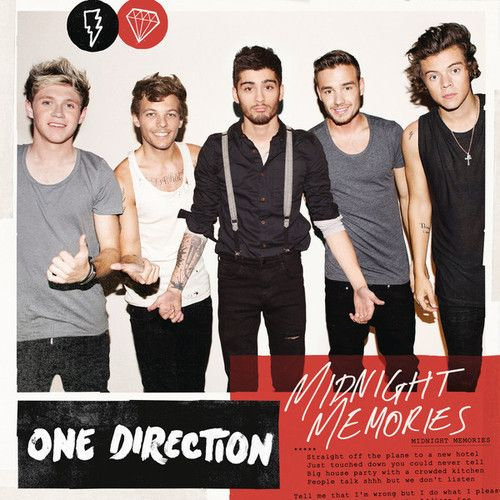 One Direction: Midnight memories (CD Single) - 2013.