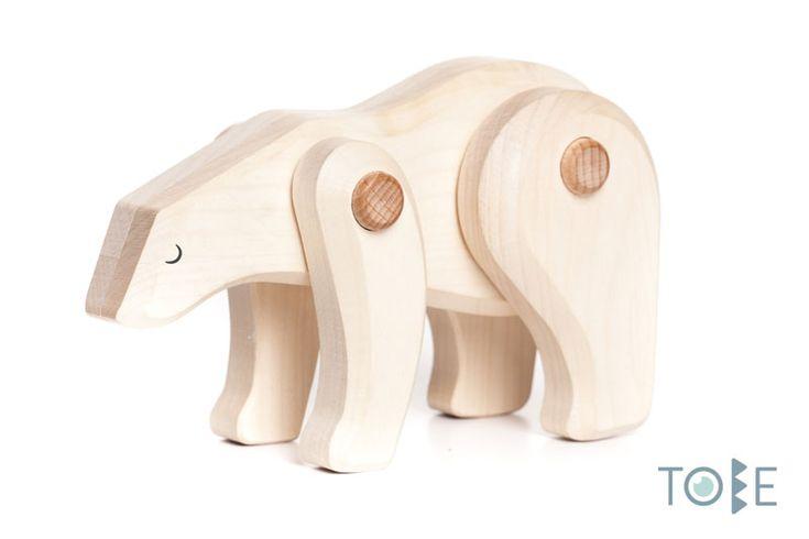 White bear - A lonely hunter, seeker.  Maple wood