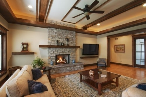 Ideas Fireplace Mantels Family Room Traditional Living Rooms Room