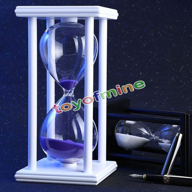 Good price Mini Hourglass Sand Timer 60 Minutes Wood Sand Timer for Kitchen Office School Decorative Use just only $13.00 with free shipping worldwide  #clocks Plese click on picture to see our special price for you