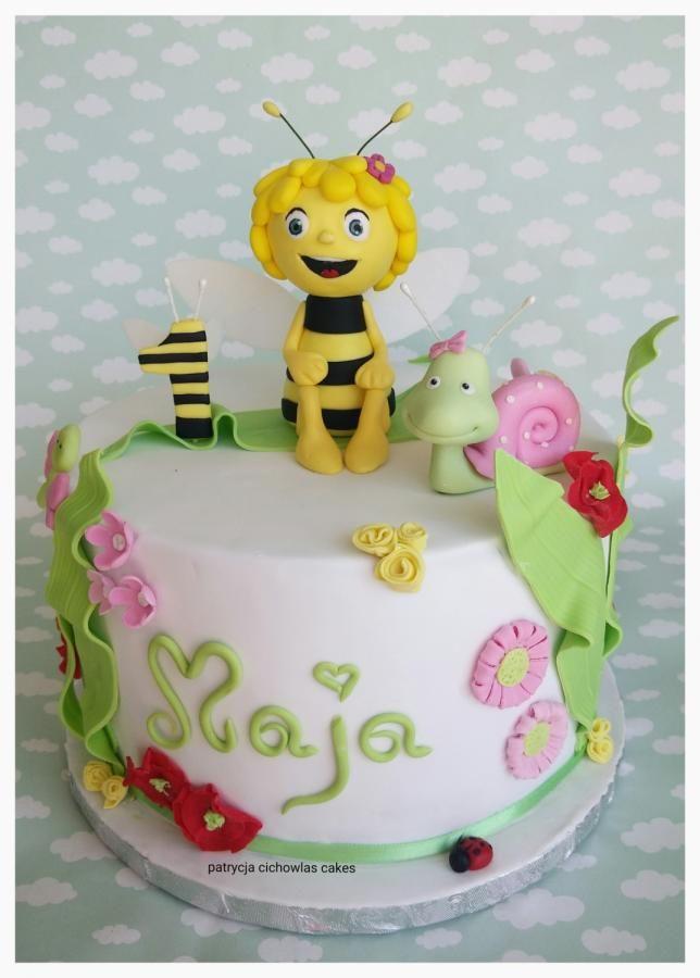 Maya the bee - Cake by Hokus Pokus Cakes- Patrycja Cichowlas