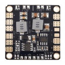 Spare Matek Power Distribution Board 4-layer PCB Two-way BEC 5V 12V PDB Fitting for FPV250 H250 DIY