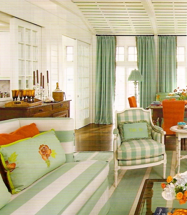 Aqua orange great beach house color combo home on the island beach house colors home - Beach house paint colors interior ...