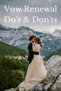 vow renewal dos and donts