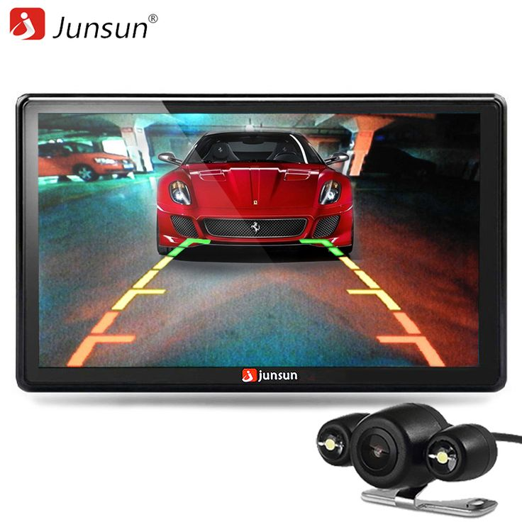 HD 7 inch Car GPS Navigation Bluetooth with Rear view Camera FM AVIN 256MB DDR/800MHZ Maps Free Updates