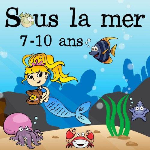 Chasse au trésor sur le thème de la mer pour des enfants de 7 à 10 ans