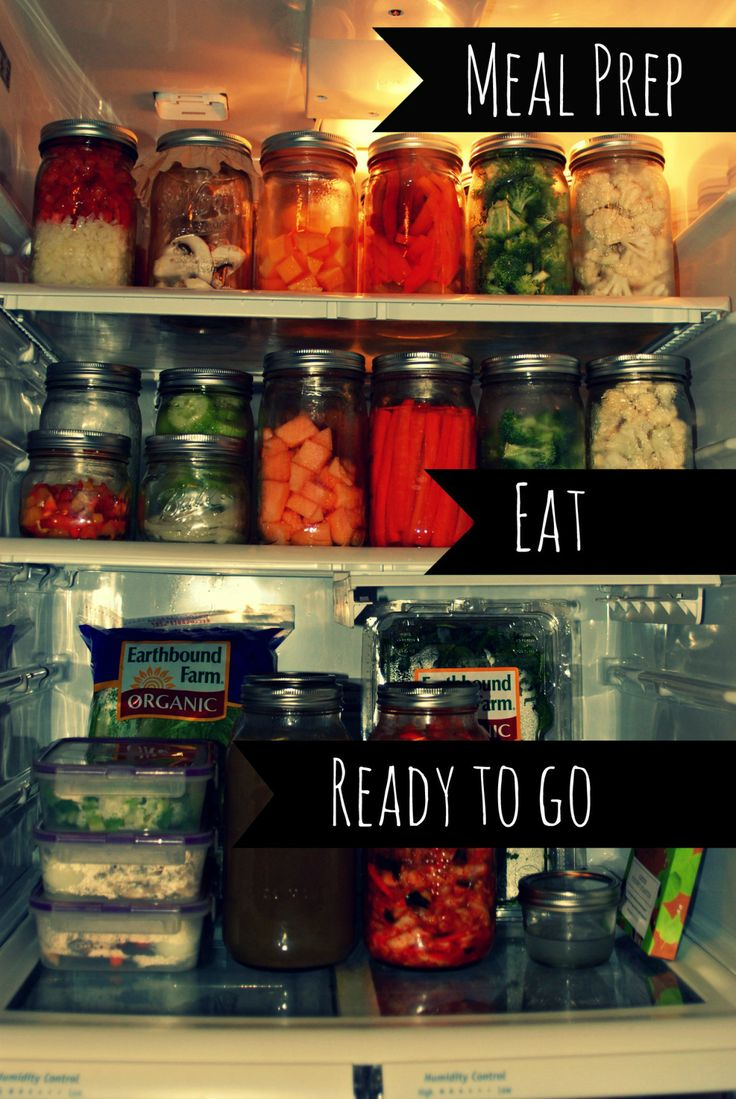 Plan to eat and eat what you plan...... easier clean eating through prep work