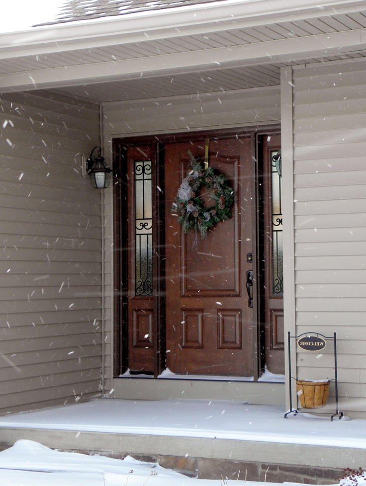 25 best ideas about fiberglass entry doors on pinterest for New front door
