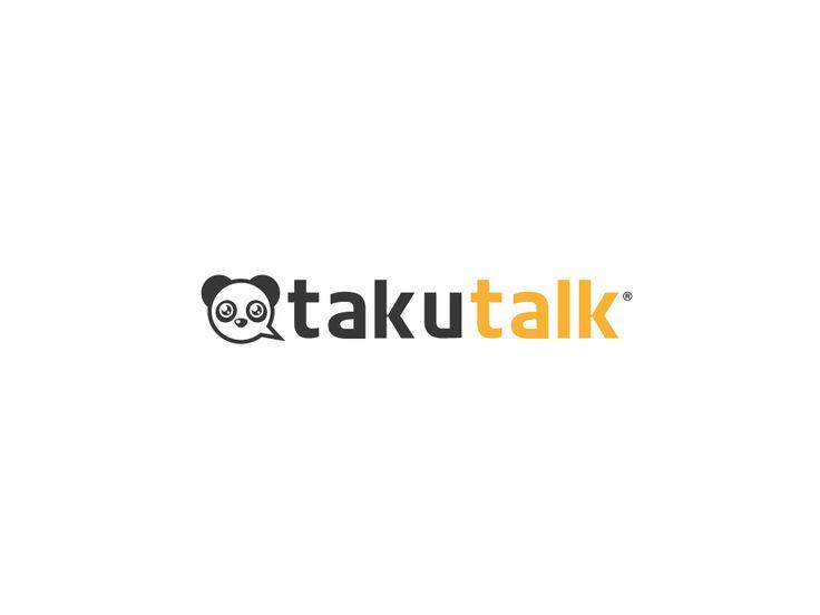 Logo Design by gennicar for OtakuTalk.com #logo #design #designcrowd #panda #animal #communications