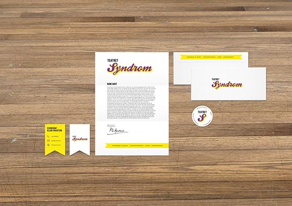 Teatret Syndrom / Theatre Syndrome by Sebastian Ygge Tinning, via Behance