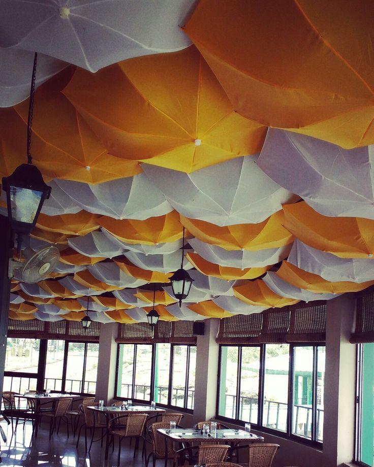 Rain cafe at cherapunji, northeast india