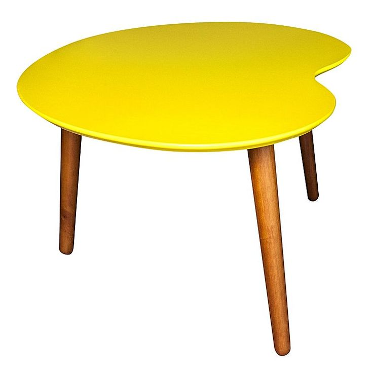 Palette Yellow Coffee Table By 6ixty