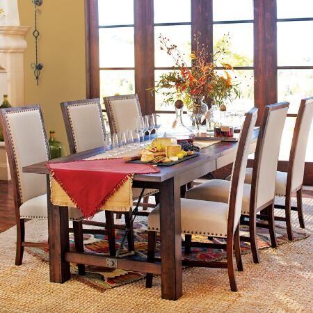 Wood Garner Extension Dining Table | World Market