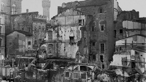 """Il Ghetto di Firenze e il risanamento del centro storico. """" … e ora entriamo nel ghetto. Nel Ghetto avete comportato come si raccogliessero..."""