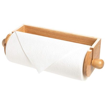 Red Barrel Studio Brown Paper Towel Holder
