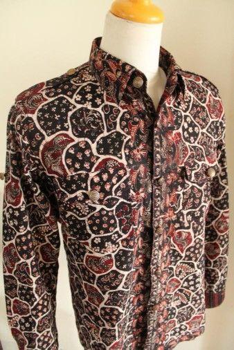 Kemeja Batik Tulis Lasem #art #vintage #batiklasem #batik