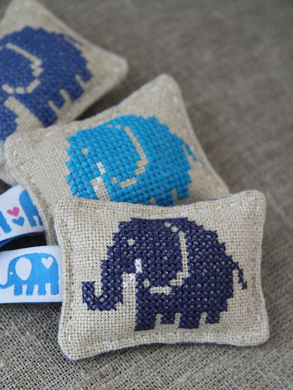 Elephant in the room pillows.
