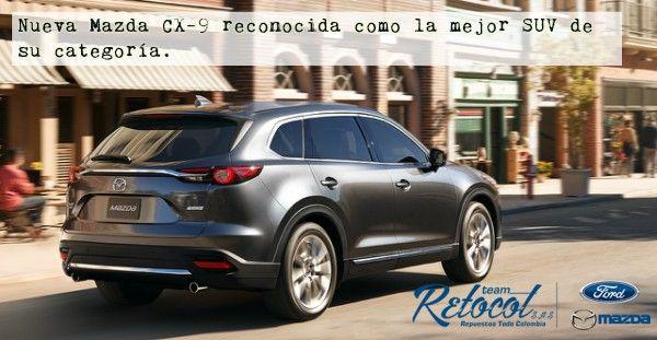 #Actualidad La nueva Mazda CX-9, además de tener las bondades del sistema 4×4, cuenta con turbo de presión dinámica. http://bit.ly/2kiOwsW