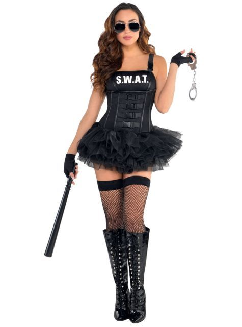 Adult Hot SWAT Costume - Party City