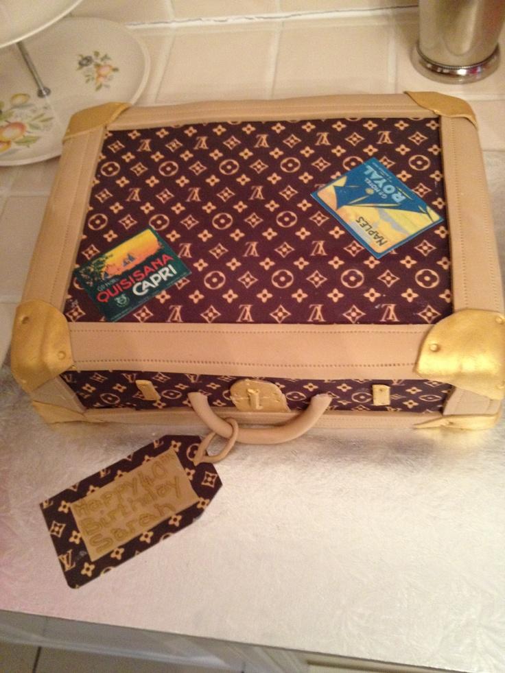 Louis Vuitton cake Cakes Pinterest