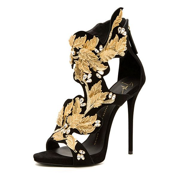 Giuseppe Zanotti - Shoes 2014 Fall-Winter - LOOK 1 | Lookovore ❤ liked on Polyvore featuring shoes, heels, giuseppe zanotti shoes and giuseppe zanotti
