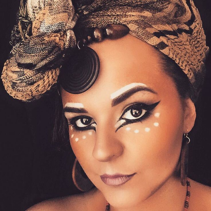 Lion King- The musical inspired tribal look Make-up: Brig Balazs