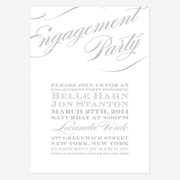 78 best Engagement party images on Pinterest Wedding ideas - engagement party invites templates