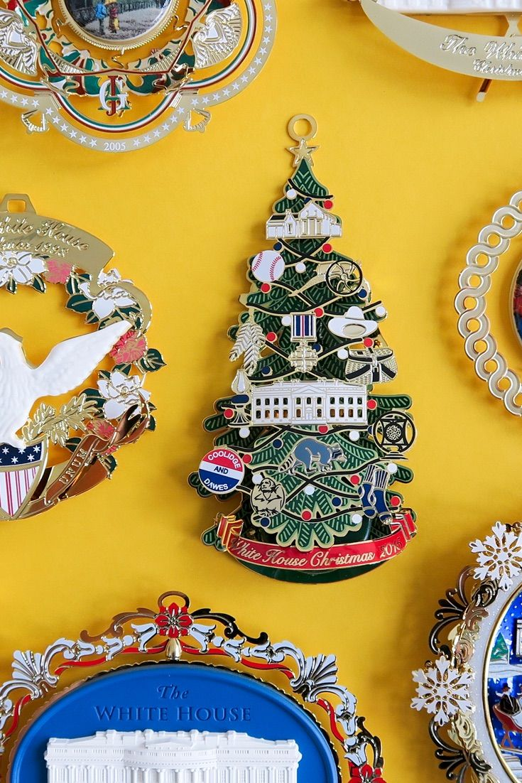 White house christmas ornaments 1993 - White House Christmas Ornaments Have Been A Holiday Tradition Since 1981 The 2015 Version Honors