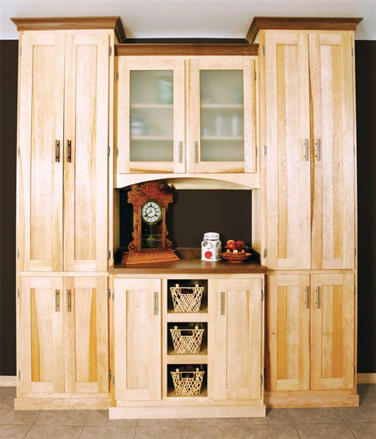 Sycamore Pantry The Best Way To Match Solid Wood And