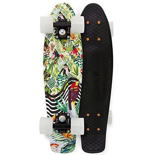 Penny Sub Tropics Complete Skateboard, Toucan Tropicana, 22 L by Penny. Penny Sub Tropics Complete Skateboard, Toucan Tropicana, 22 L.