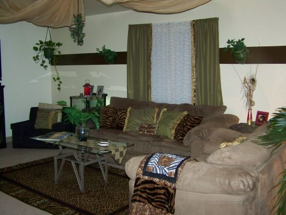 Jungle Living Room Ideas | ... ..., Here Is The Back