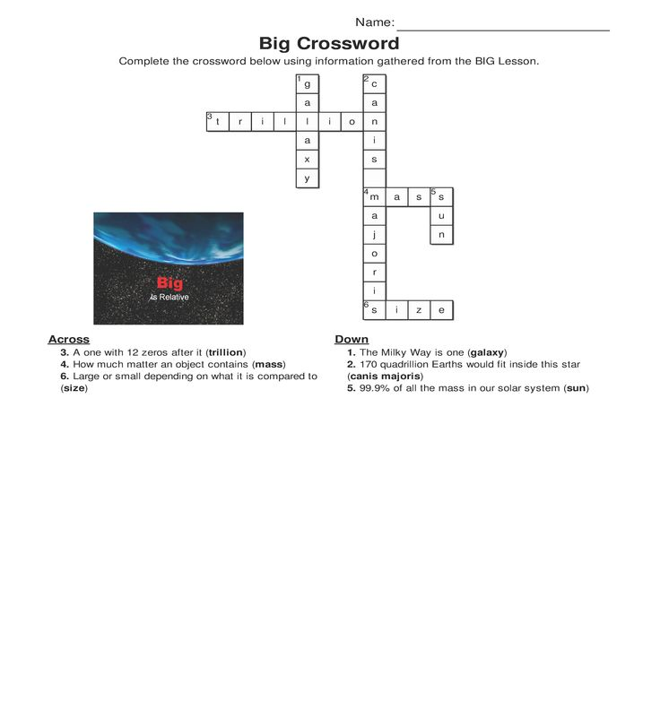 11 best astronomy activities for homeschoolers images on pinterest big crossword answer key one of the activities that comes with home school astronomys computer fandeluxe Gallery