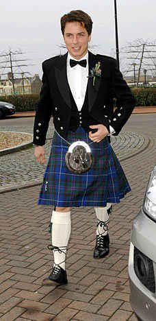 Men In Kilts. John Barrowman looks great in his kilt. Wowza!